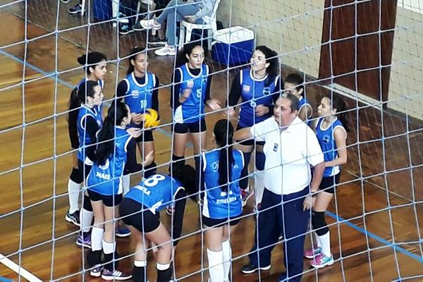 O Reino Infantil é semifinalista no voleibol infantil feminino 1b90a033c7eb2