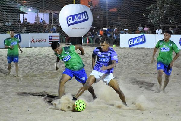 3830b35a61 As seleções de São José de Ribamar e Morros foram as grandes vitoriosas na  segunda rodada da etapa da Grande Ilha do Campeonato Maranhense de Beach  Soccer ...