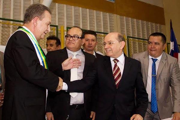 Eudes Sampaio tomará posse em Ribamar - Zeca Soares