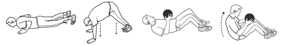 Fitnesslineart