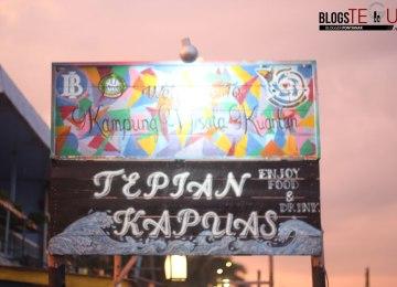Kampung Warna Tepian Kapuas, Destinasi Wisata Baru Pontianak