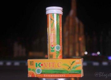K-Vit C Plus Teavigo, Multivitamin yang Bagus Untuk Para Pekerja
