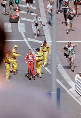 Monaco 2000 Michael Schumacher