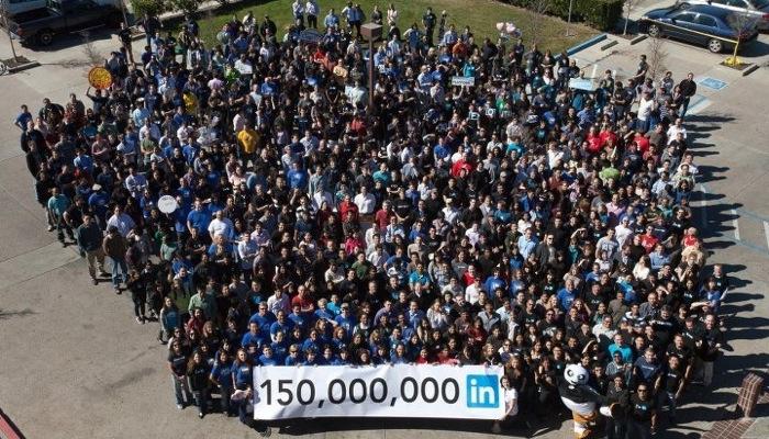 Februar 2012: 150 Millionen LinkedIn Mitglieder