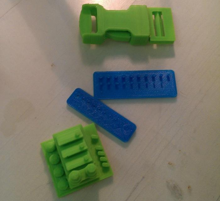 3D Druckerzeugnisse