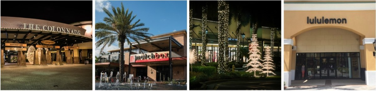 lululemon e Dolce & Gabbana abrem no The Colonnade Outlets at Sawgrass Mills