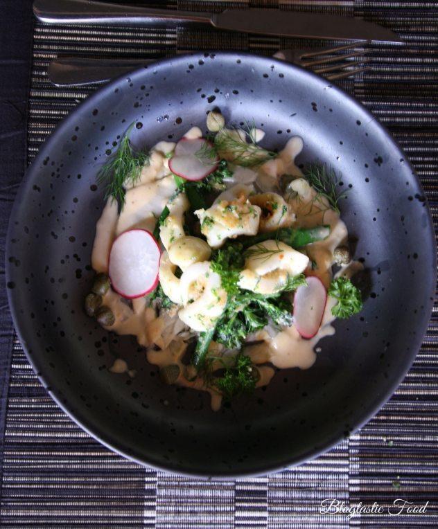 Pan fried squid 4