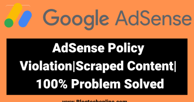 Adsense account Disabled How to Enable