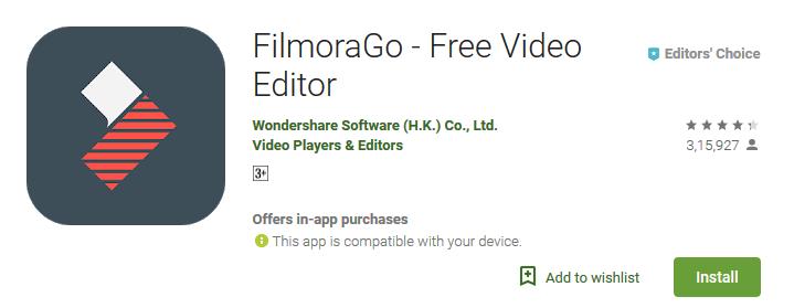 download filmorago pro apk android
