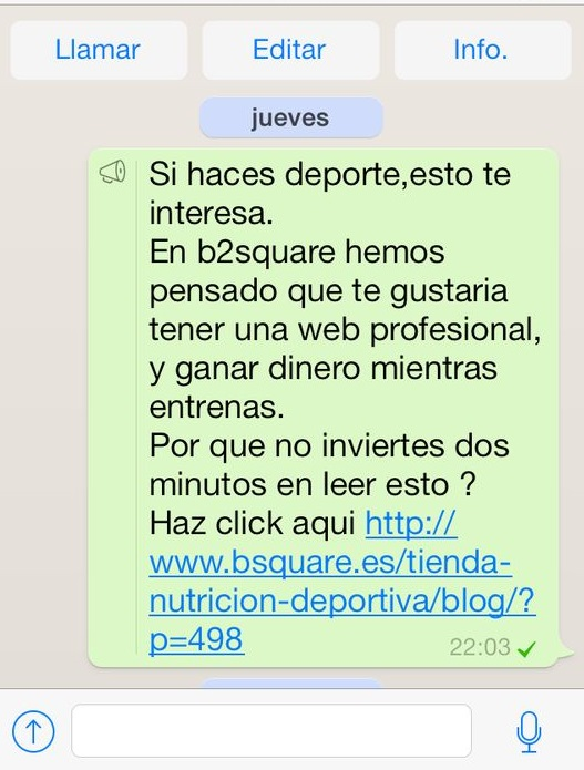 Vender Whatsapp Blog