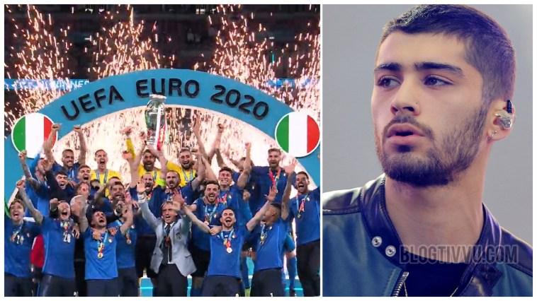 """Campioni d'Europa: Zayn non la prende bene, l'ex On Direction ci chiama """"Italia sporcacciona"""""""
