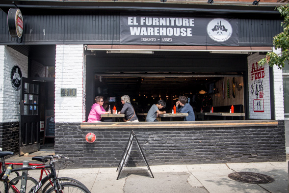 El Furniture Warehouse Menu Toronto