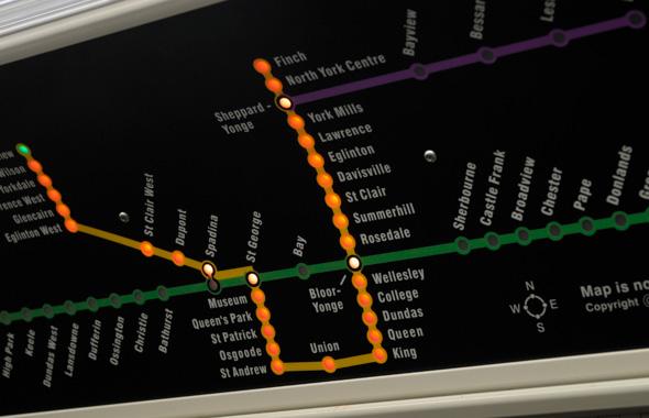 TTC Rocket Subway Train