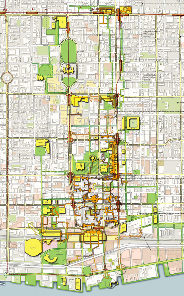 Toronto PATH masterplan