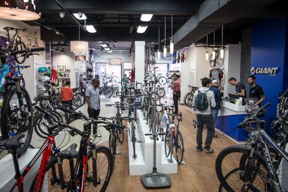 The top 25 bike stores in Toronto by neighbourhood