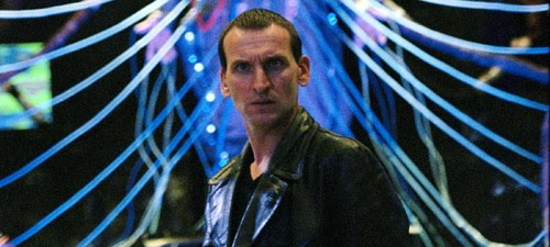 Christopher Eccleston in Bad Wolf (c) BBC Studios Doctor Who Ninth Doctor