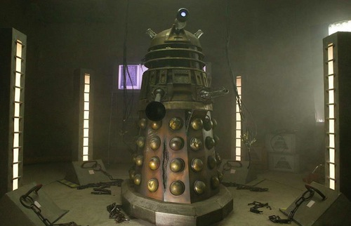 The 'Metaltron' from 2005 episode Dalek (c) BBC Studios Doctor Who Series 1