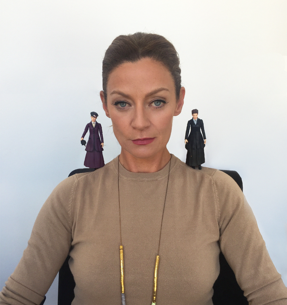 Michelle Gomez Meets Missy Action Figures Blogtor Who