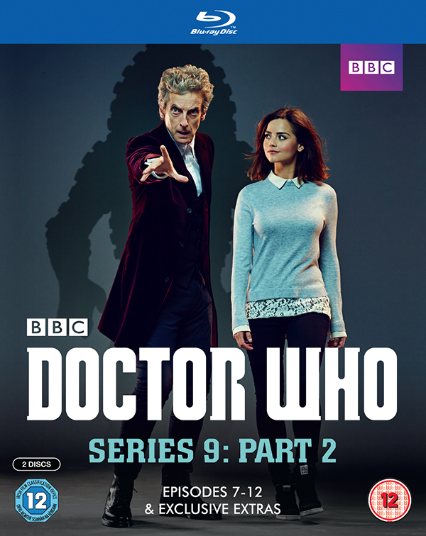 UK - Doctor Who Series 9 Part 2 Blu-ray Cover