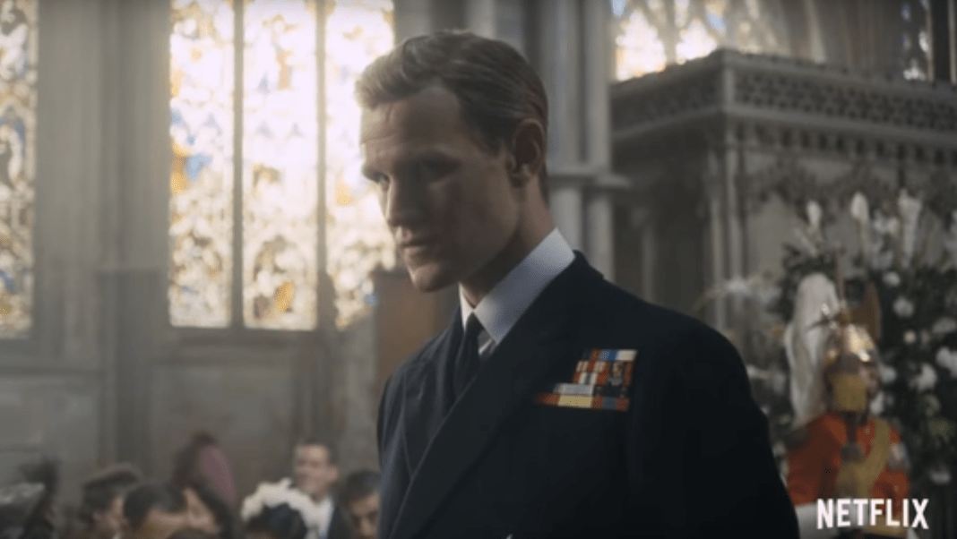 Matt Smith in The Crown (c) Netflix