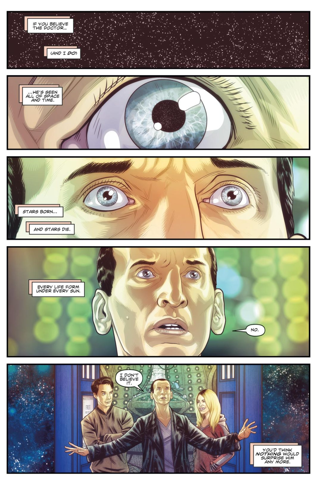 DOCTOR WHO THE NINTH DOCTOR VOL. 1: WEAPONS OF PAST DESTRUCTION - Preview 1