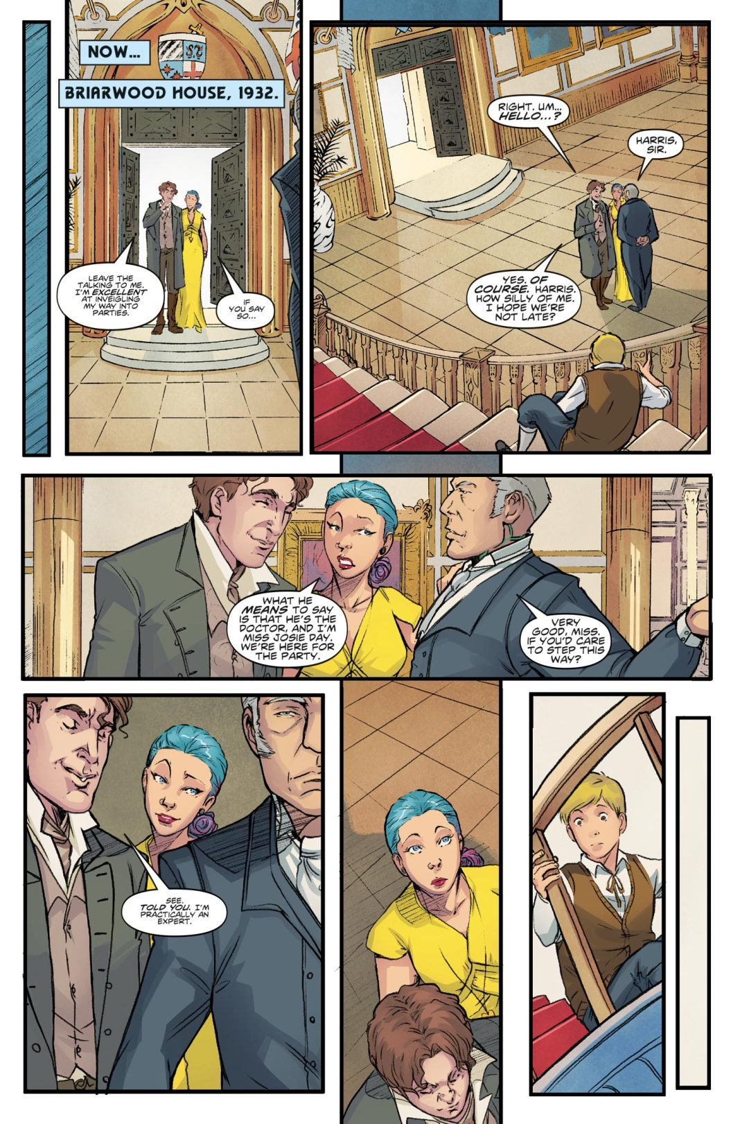 Doctor Who: The Eighth Doctor #4 - Preview 2 (c) Titan Comics