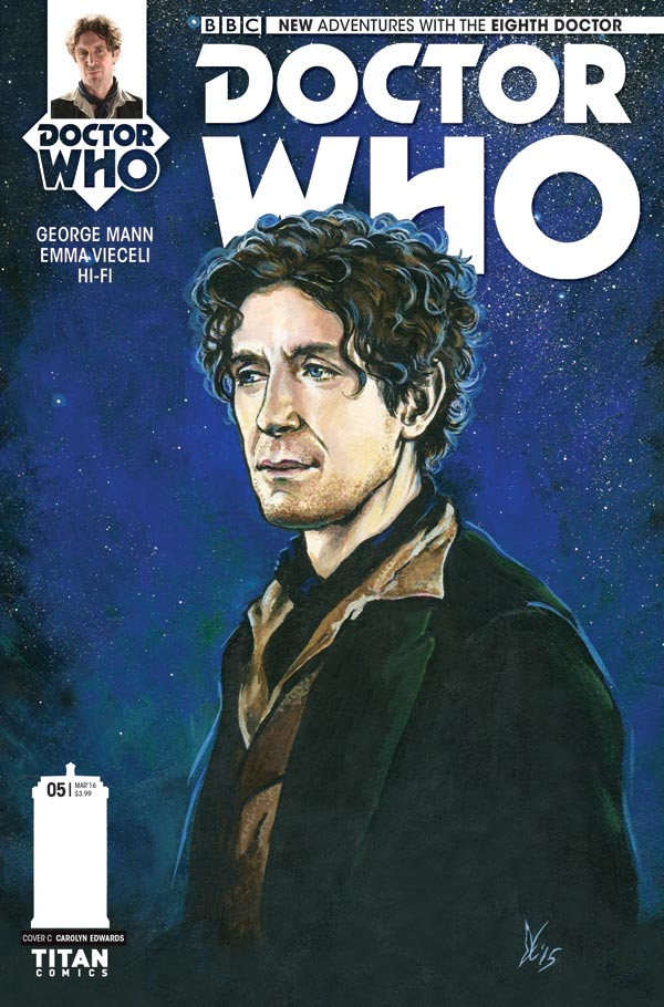 DOCTOR WHO: THE EIGHTH DOCTOR #5 - Cover C (c) Titan Comics