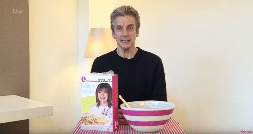 Peter Capaldi - Lorraine's 60 Second Cereal