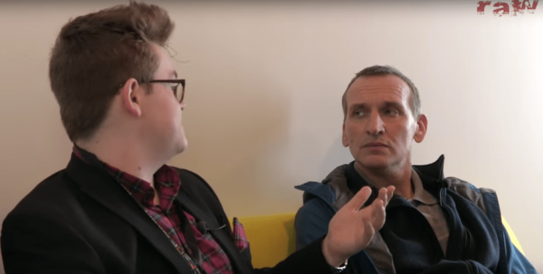 Christopher Eccleston and Gerard Groves - BBC Raw