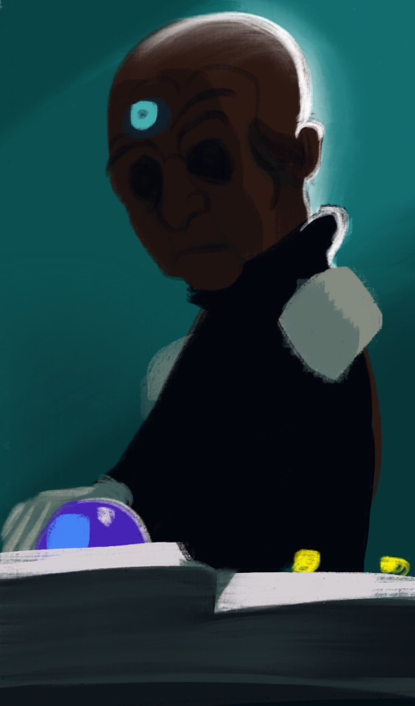 Davros by Lucy Crewe