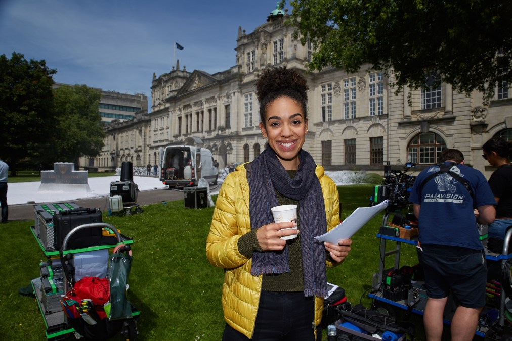 Doctor Who Series 10, Block 1. Pearl Mackie on Set - Copyright © Simon Ridgway, 2016 |www.simonridgway.com |pictures@simonridgway.com