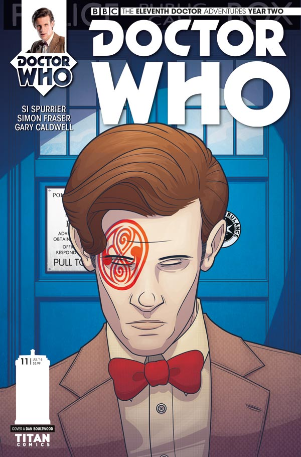DOCTOR WHO: THE ELEVENTH DOCTOR #2.11 - Cover A by Dan Boultwood