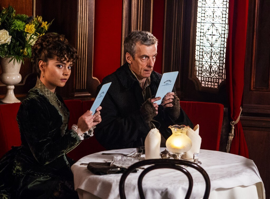 Doctor - Series 8 - Episode 1 - Deep Breath - Peter Capaldi as The Doctor and Jenna Coleman as Clara - (c) BBC