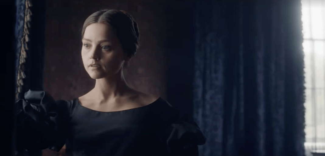 Jenna Coleman as Victoria in ITV's new drama 'Victoria' (c) ITV