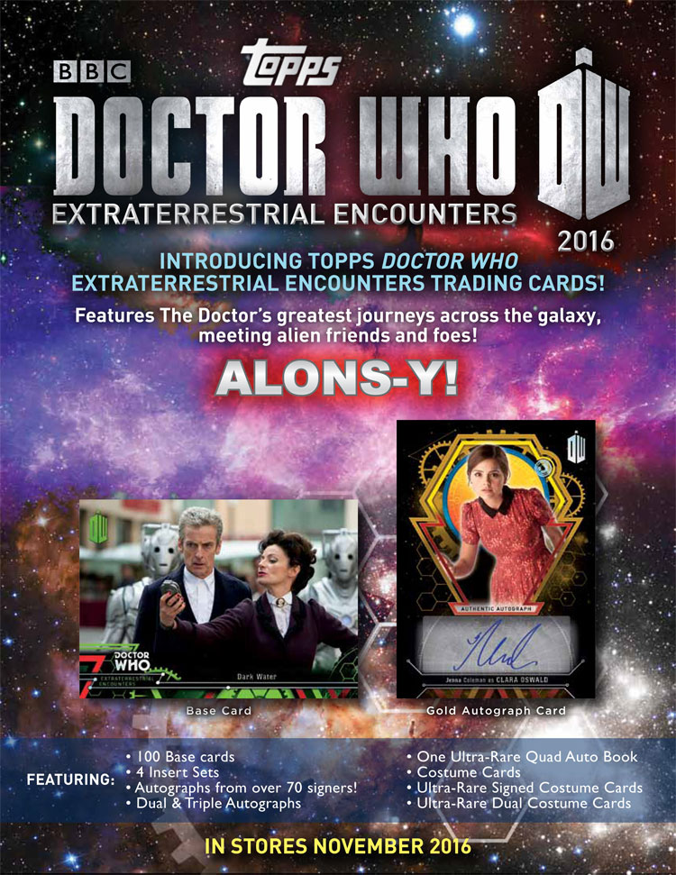Extraterrestrial Encounters Trading Cards EMPTY Packet//Wrapper #W115 Dr Who