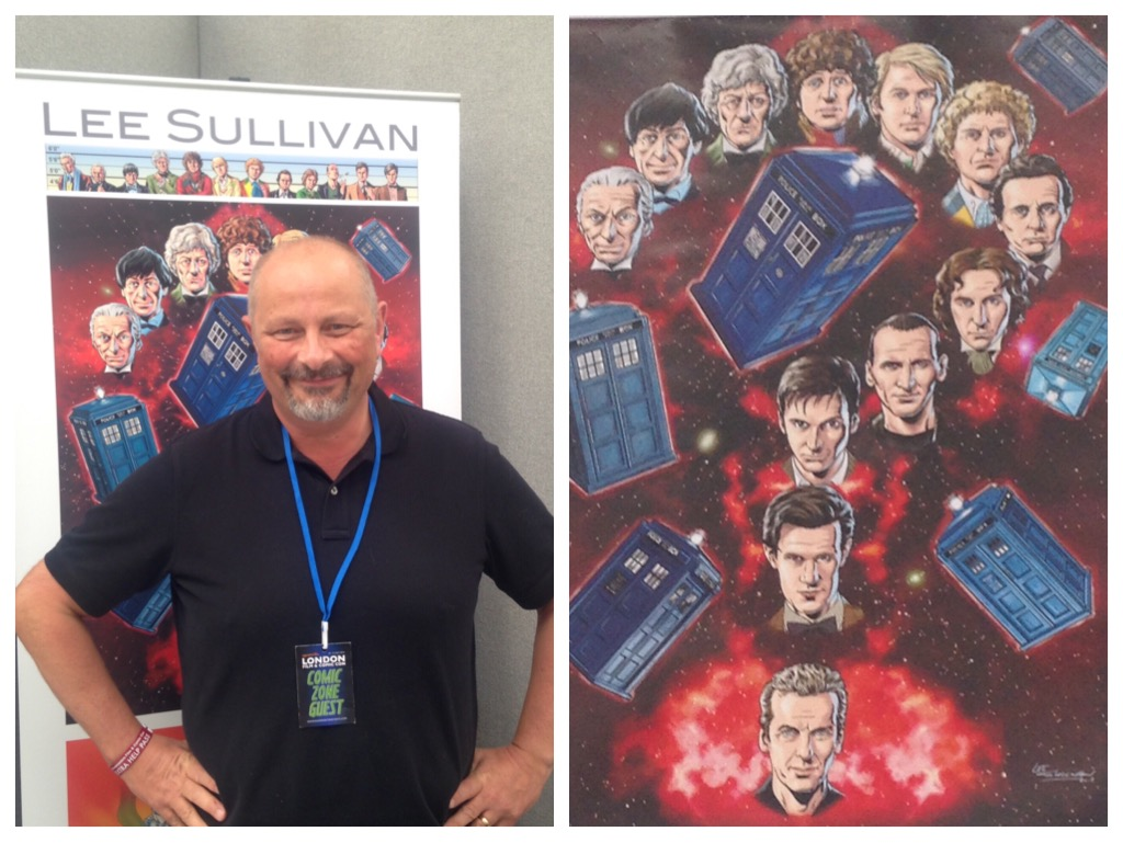 Lee Sullivan - London Film and Comic Con July 2016