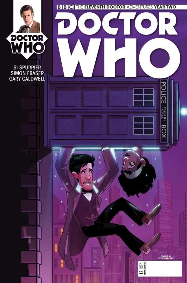TITAN COMICS - ELEVENTH DOCTOR 2.12 - COVER D BY Stephen Byrne