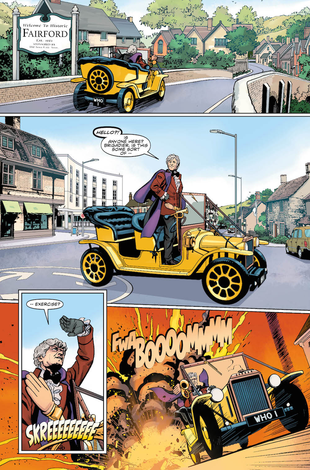 DOCTOR WHO: THIRD DOCTOR #1 PREVIEW 4