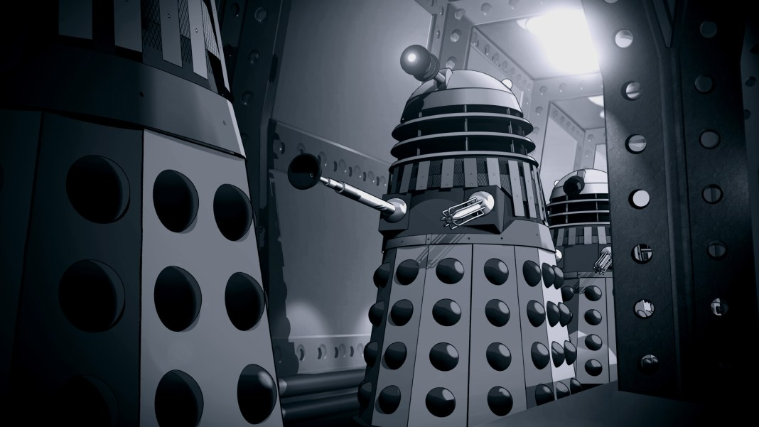 The Power of the Dalek's Animation (c) BBC