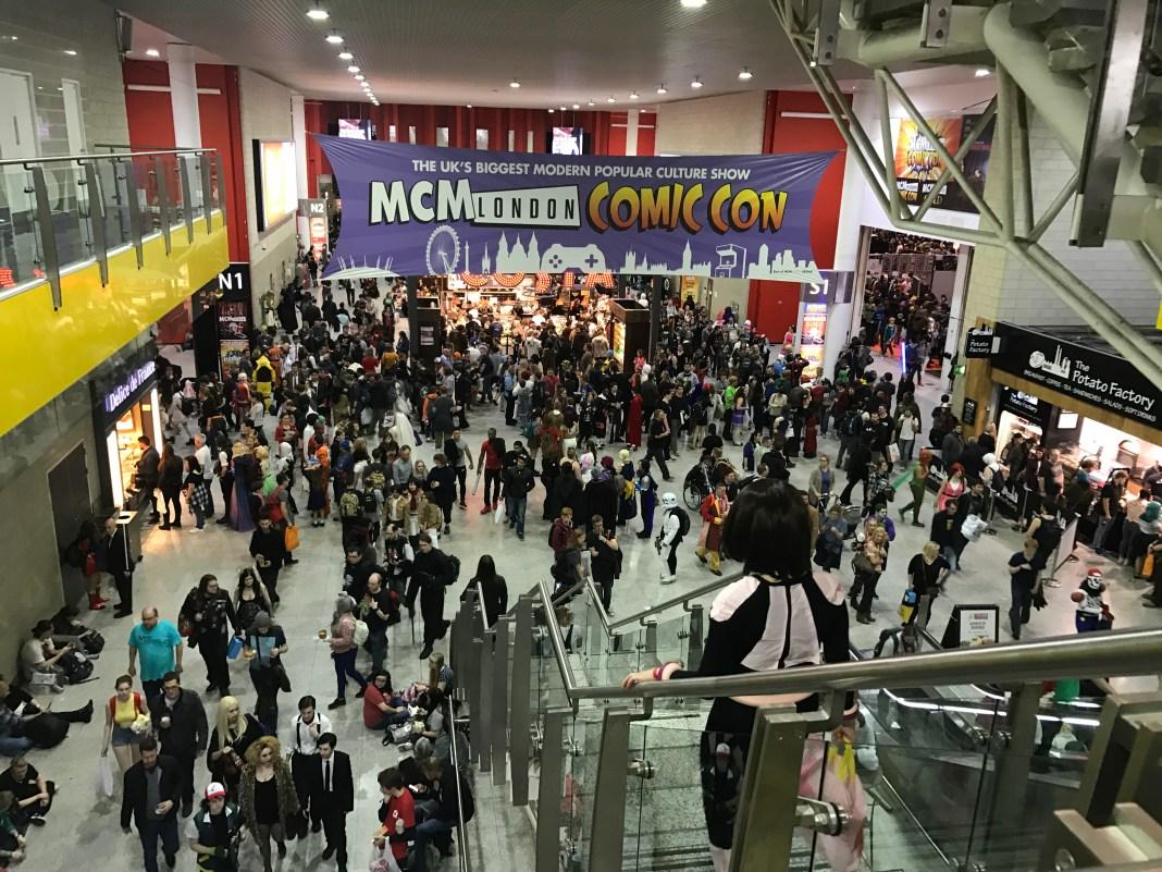 MCM Comic Con London Photo by Rebecca Kurson