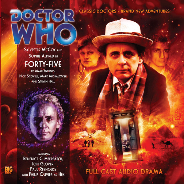 FORTY-FIVE (c) BIG FINISH Doctor Who Seventh Doctor Sylvester McCoy