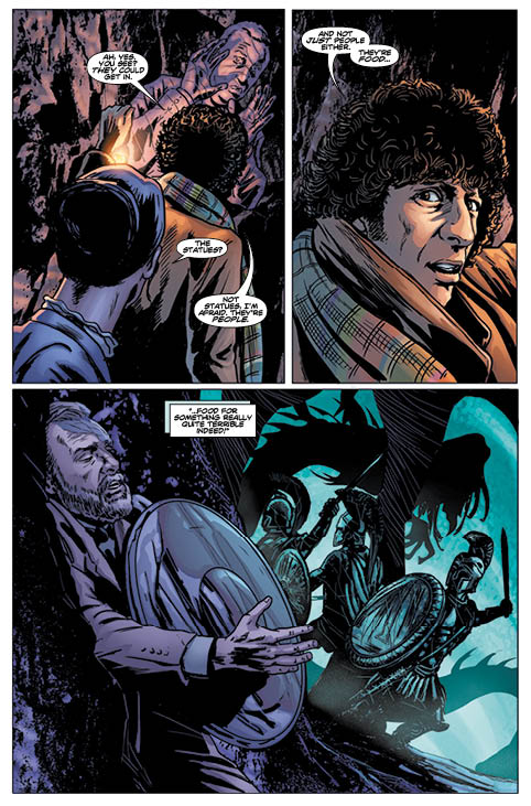 TITAN COMICS - Doctor Who 4th Vol 1 - Preview 4