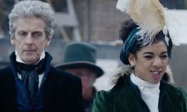 The Doctor (Peter Capaldi) and Pearl Mackie (Bill Potts) - Doctor Who Series 10 Episode 3 (c) BBC