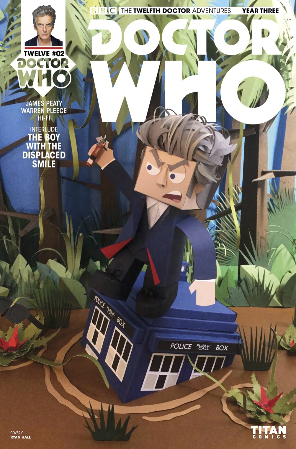 ​DOCTOR WHO: TWELFTH DOCTOR YEAR 3 #2 COVER C - LINKED SET OF FOUR Ryan Hall