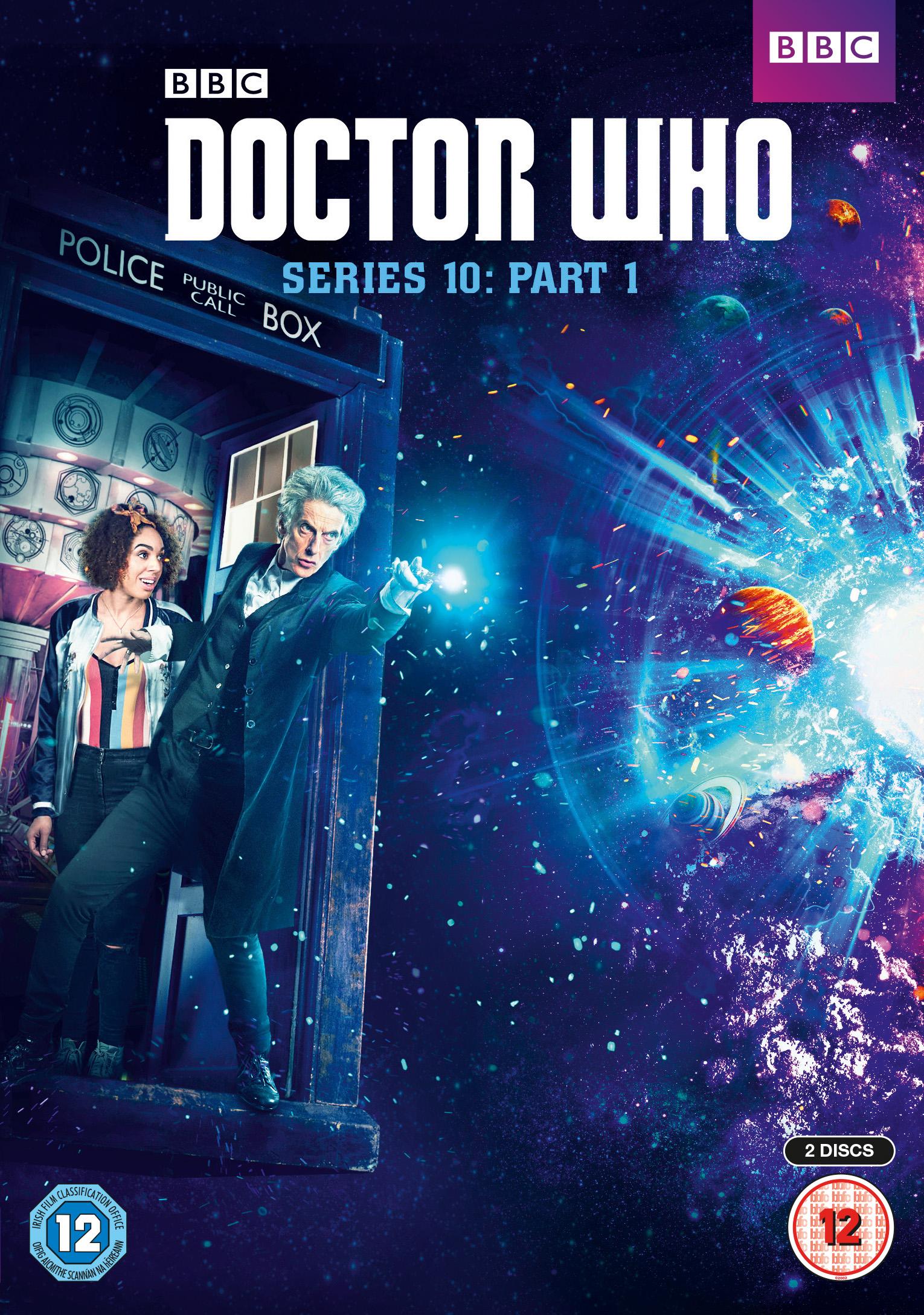 Doctor Who S10 DVD Amp Blu Ray Part 1 Amp 2 Covers Amp Bonus