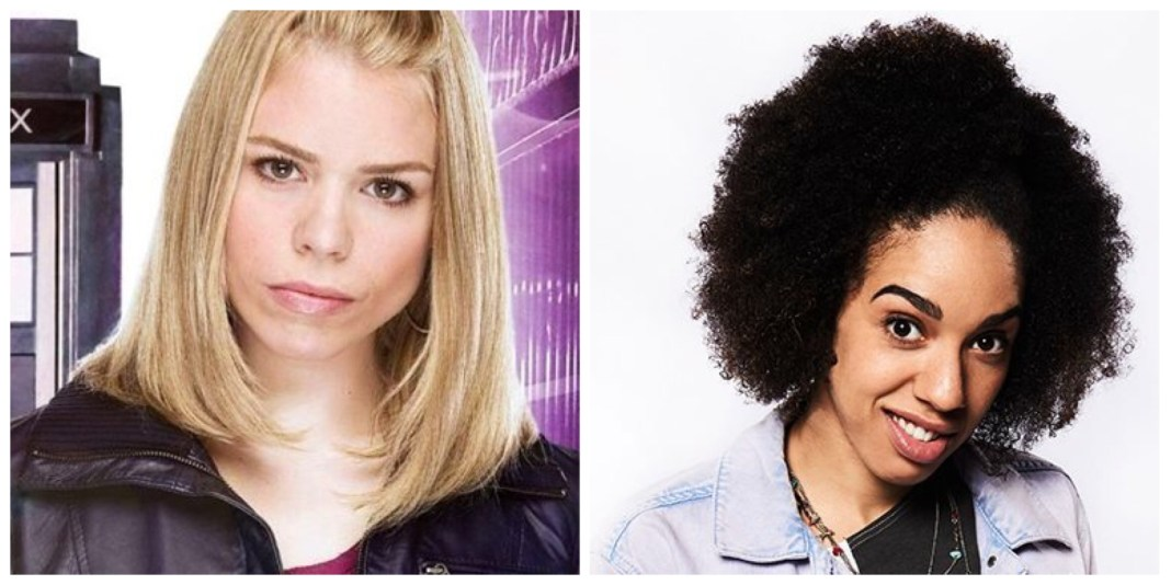 Billie Piper and Pearl Mackie © Doctor Who BBC