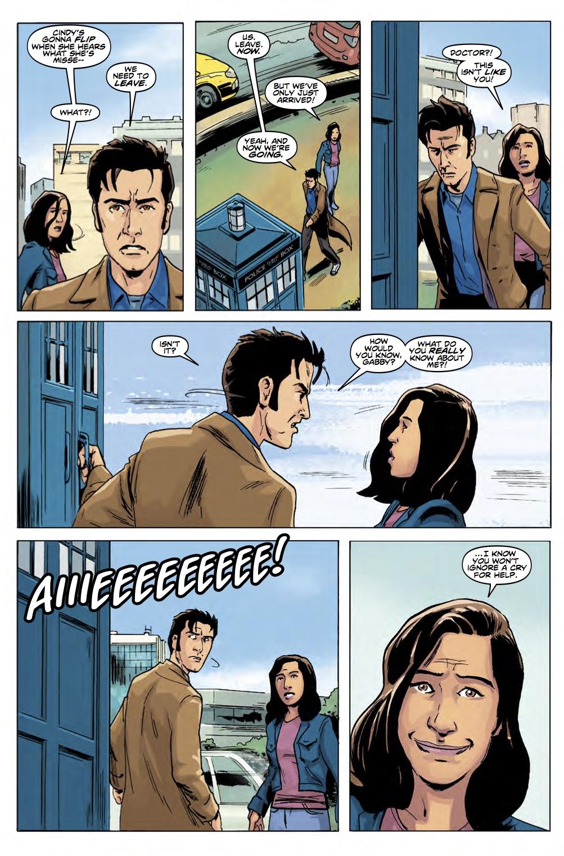 TITAN COMICS - TENTH DOCTOR YEAR THREE #5