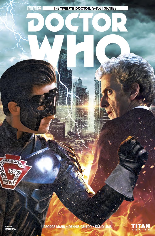 TITAN COMICS DOCTOR WHO: GHOST STORIES #3 - COVER B BY DAN BURA