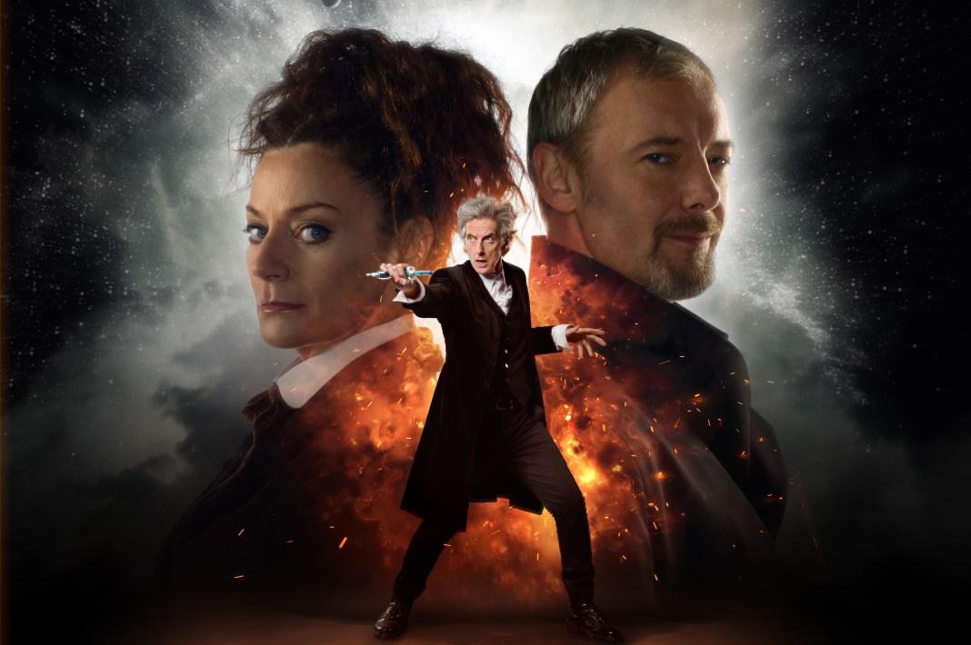 Doctor Who S10 - World Enough and Time: Missy (MICHELLE GOMEZ), The Master (JOHN SIMM), The Doctor (PETER CAPALDI) - (C) BBC/BBC Worldwide - Photographer: Simon Ridgway/Ray Burmiston
