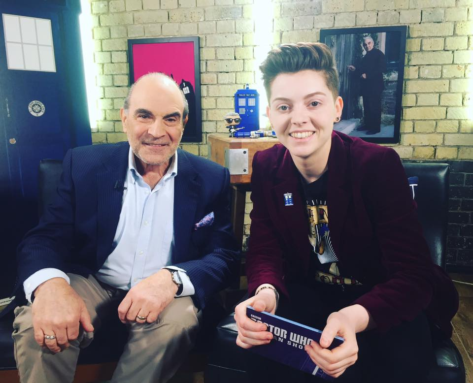Christel Dee and David Suchet - Doctor Who The Fan Show